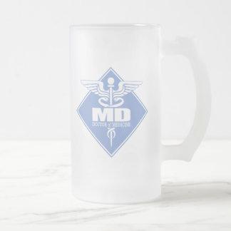 DM de DAO (diamant) Mug En Verre Givré