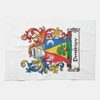 Dmitriev Family Crest Kitchen Towel