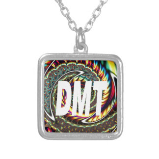 DMT SILVER PLATED NECKLACE