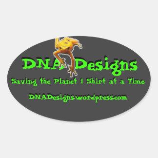 DNA Designs bumper sticker