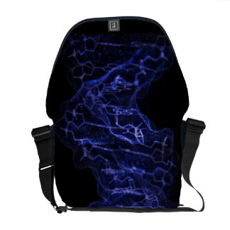 DNA Double Helix Science Messenger Bag