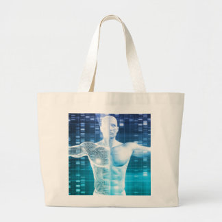 DNA Encoding and Genetic Code as a Science Large Tote Bag