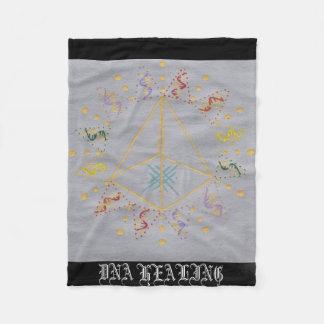 DNA Healing/Activation Fleece Blanket