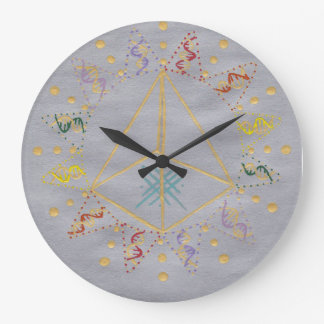 DNA Healing/Activation Large Clock