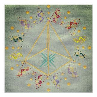 DNA Healing/Activation Poster