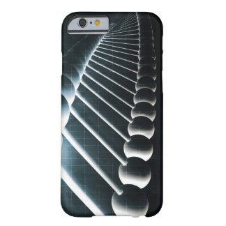 DNA Helix Abstract Background as a Science Concept Barely There iPhone 6 Case
