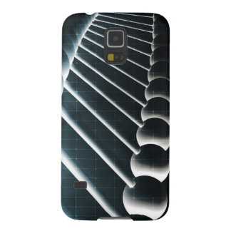 DNA Helix Abstract Background as a Science Concept Cases For Galaxy S5