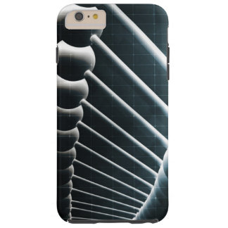 DNA Helix Abstract Background as a Science Concept Tough iPhone 6 Plus Case