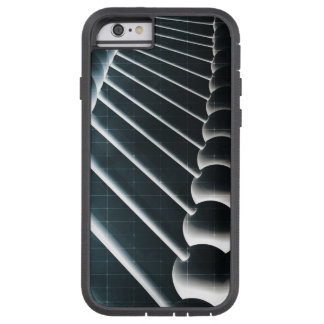 DNA Helix Abstract Background as a Science Concept Tough Xtreme iPhone 6 Case