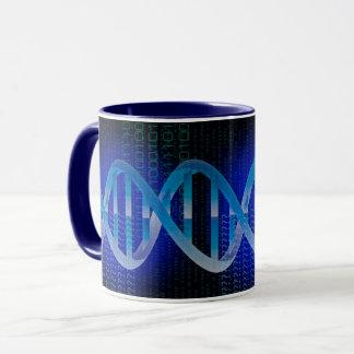 DNA ID Blue Mug