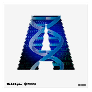 DNA ID WALL DECAL