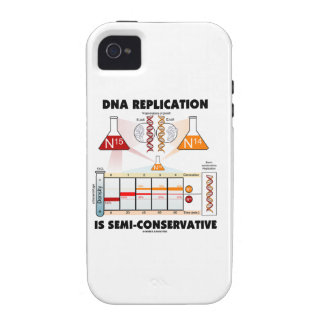DNA Replication Is Semi-Conservative Case-Mate iPhone 4 Case