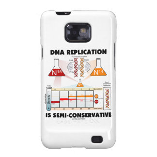 DNA Replication Is Semi-Conservative Samsung Galaxy SII Case