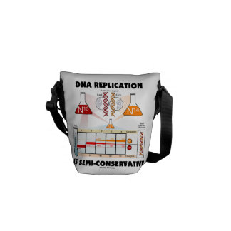 DNA Replication Is Semi-Conservative Courier Bag