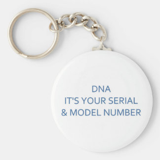 DNA SERIAL & MODEL NUMBER KEYCHAIN