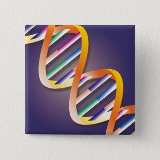 DNA Spotlight 2 Inch Square Button