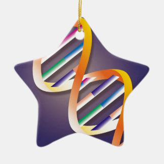 DNA Spotlight Ceramic Ornament