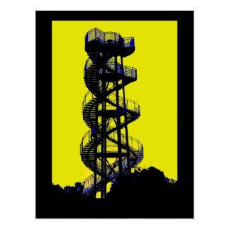 DNA Tower Perth Australia Postcard