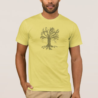 DNA TREE or Tree of Life Stylized T-Shirt