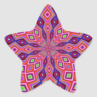 DNA Twist Star Sticker