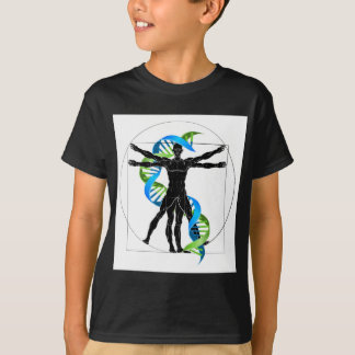 DNA Vitruvian Man T-Shirt