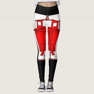 DNatureofDTrain Caboose leggings