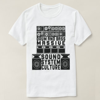 DNB SOUND SYSTEM CULTURE T-Shirt