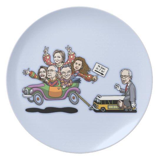 DNC Clown Car Plate