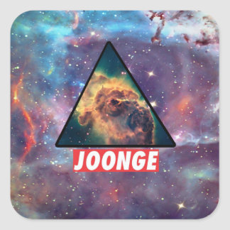 Dner Square Sticker