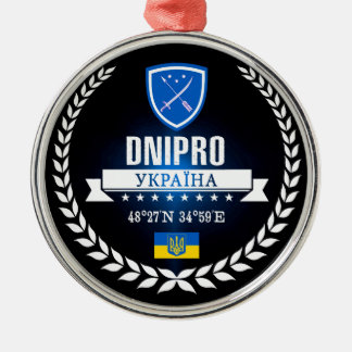 Dnipro Metal Ornament