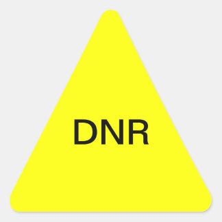 DNR Medical Chart Label