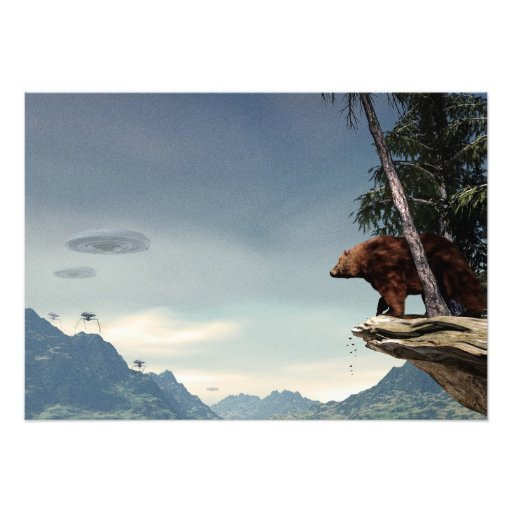 Do Aliens Get Grizzly? Photograph