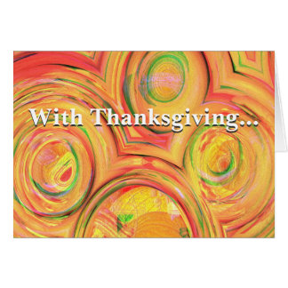 Do all with thanksgiving Colossians 3:17 Greeting Card