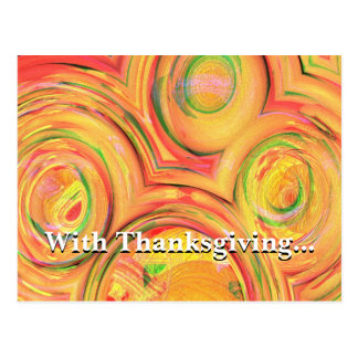 Do all with thanksgiving Colossians 3:17 Post Cards