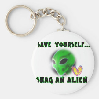 DO AN ALIEN KEYCHAIN