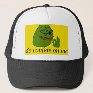 Do Covfefe On Me Pepe Gadsden Flag Black Cap