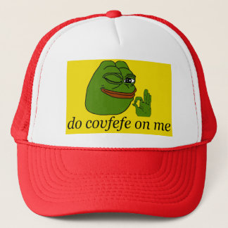 Do Covfefe On Me Pepe Gadsden Flag Red Cap