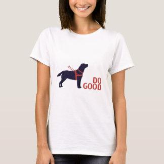 Do Good - Service Dog - Black Lab T-Shirt