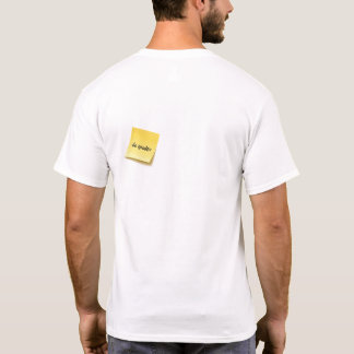 Do Gooder Sticky Note T-Shirt