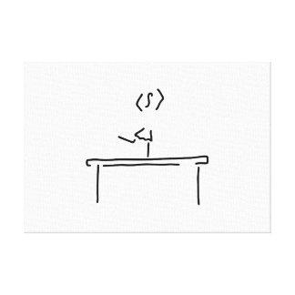 do gymnastics barbar bars girls canvas prints