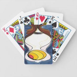 Do I Dare Eat a Peach? Bicycle Playing Cards