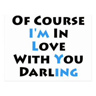 Do I Love You? Postcard