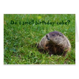 Do I smell birthday cake? Card