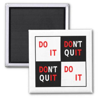 Do It Don't Quit black white red motivational