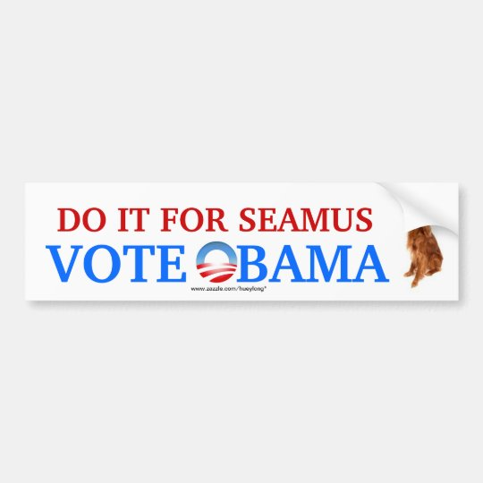 Do it for Seamus bumper sticker