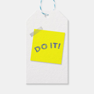 Do it! gift tags