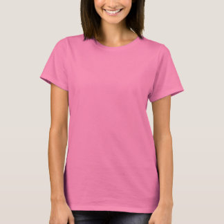 Do it in the Name of Love - Pink LS Ladies Tee