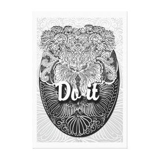 Do it- Positive Quote´s Canvas Print