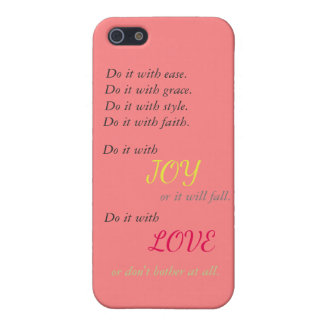 Do it with Love phone case iPhone 5 Cases