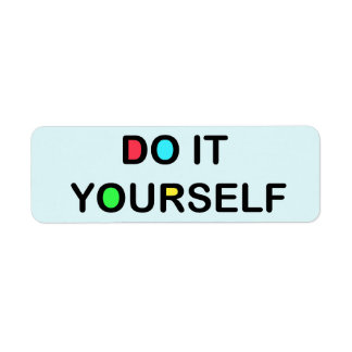 """DO IT YOURSELF ~ 30 Address Labels 3/4""""x2 1/4"""""""
